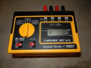 Soil Resistivity Meter Megger Biddle Det 5/2 Ground Tester