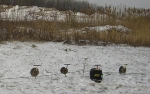 Resistivity meter and spools